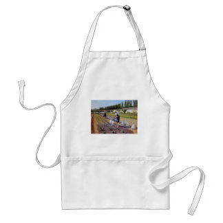 Gustave Caillebotte- The Gardeners Adult Apron