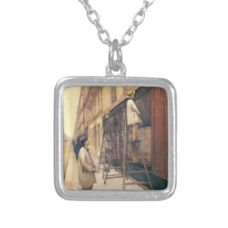 Gustave Caillebotte- The House Painters Custom Necklace