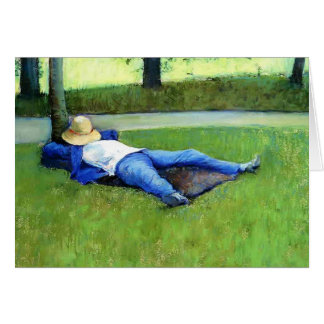 Gustave Caillebotte: The Nap Greeting Card