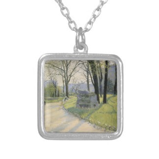 Gustave Caillebotte- The Park Monceau Jewelry