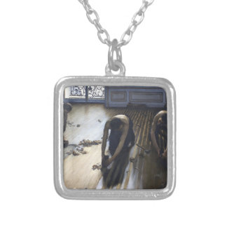 Gustave Caillebotte- The Parquet Planers Personalized Necklace