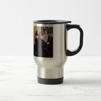 Gustave Caillebotte- The Piano Lesson 15 Oz Stainless Steel Travel Mug