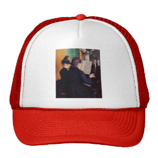 Gustave Caillebotte- The Piano Lesson Trucker Hat