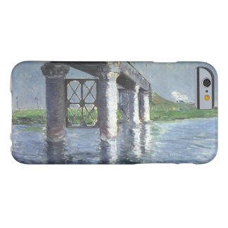 Gustave Caillebotte - The Seine and the Railroad Barely There iPhone 6 Case