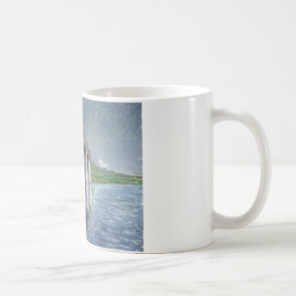 Gustave Caillebotte - The Seine and the Railroad Coffee Mug