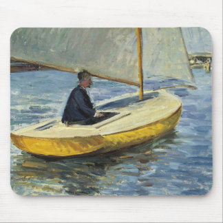 Gustave Caillebotte - The Yellow Boat Mouse Pad