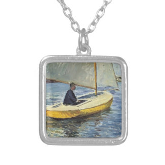 Gustave Caillebotte- The Yellow Boat Custom Jewelry