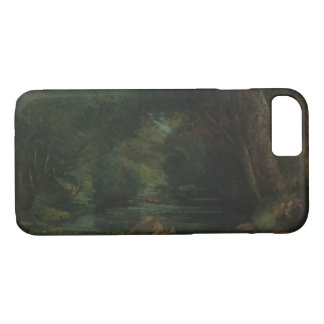 Gustave Courbet - A Brook in the Forest iPhone 8/7 Case