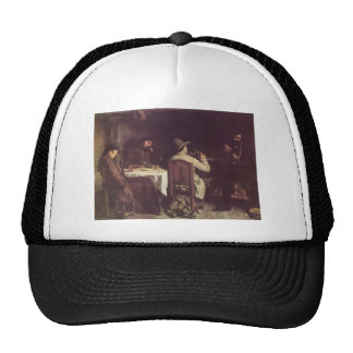Gustave Courbet- After Dinner at Ornans Trucker Hat