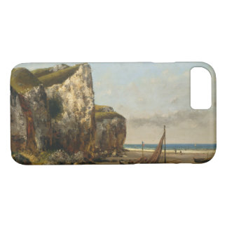 Gustave Courbet - Beach in Normandy iPhone 8/7 Case