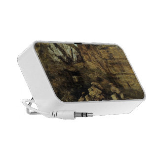Gustave Courbet- Crumbling Rocks iPod Speakers