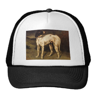 Gustave Courbet- Dog from Ornans Trucker Hat