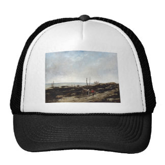 Gustave Courbet- Going Fishing Trucker Hat