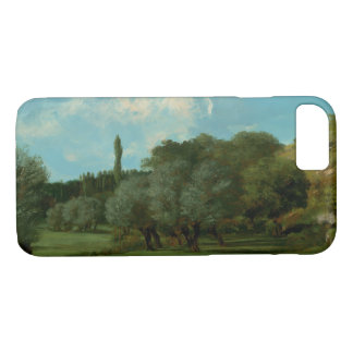 Gustave Courbet -La Bretonnerie in the Department iPhone 8/7 Case