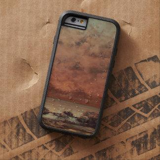 Gustave Courbet las rocas del negro en Trouville Funda Para iPhone 6 Tough Xtreme