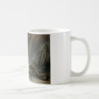 Gustave Courbet - Marine: The Waterspout Coffee Mug