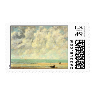 Gustave Courbet Painting Stamp