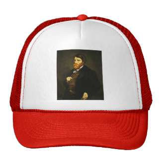 Gustave Courbet- Portrait of Alfred Bruyas Trucker Hat