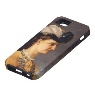 Gustave Courbet- Portrait of Countess Therese iPhone 5 Cases