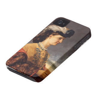 Gustave Courbet- Portrait of Countess Therese iPhone 4 Case