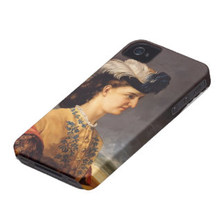 Gustave Courbet- Portrait of Countess Therese iPhone 4 Case-Mate Case