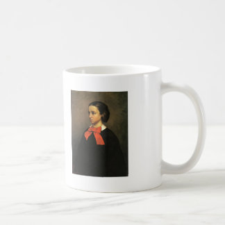 Gustave Courbet- Portrait of Mlle. Jacquet Mugs