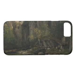 Gustave Courbet - River and Rocks iPhone 8/7 Case