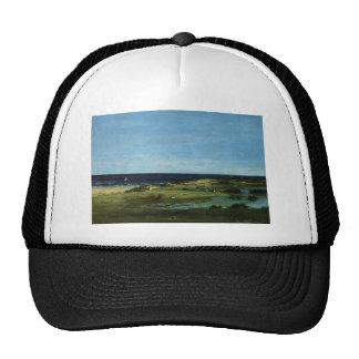 Gustave Courbet-Seacoast (Souvenir of Les Cabanes) Trucker Hat