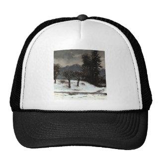 Gustave Courbet- Snow Trucker Hat