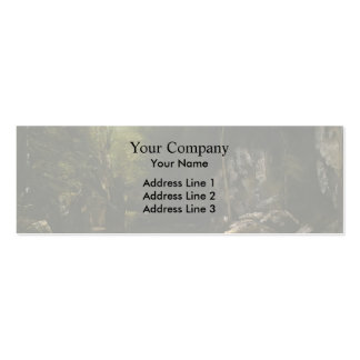 Gustave Courbet- Solitude Double-Sided Mini Business Cards (Pack Of 20)