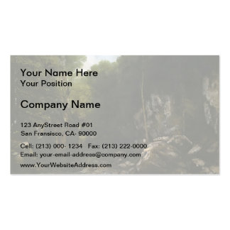Gustave Courbet- Solitude Double-Sided Standard Business Cards (Pack Of 100)