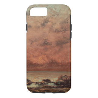 Gustave Courbet The Black Rocks At Trouville iPhone 7 Case