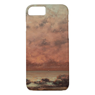 Gustave Courbet The Black Rocks At Trouville iPhone 8/7 Case