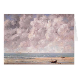 Gustave Courbet- The Calm Sea Card