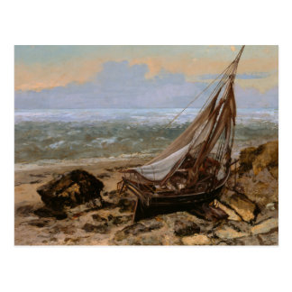 Gustave Courbet - The Fishing Boat Postcard