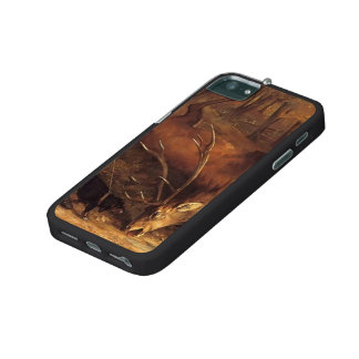 Gustave Courbet- The German Huntsman iPhone 5/5S Cover