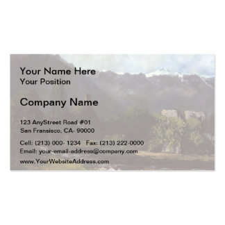 Gustave Courbet- The Glacier Business Card Template