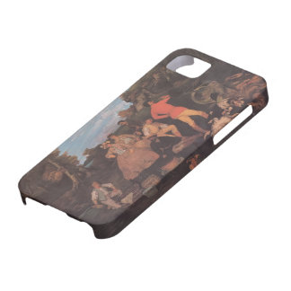 Gustave Courbet- The Huntsman's Picnic iPhone 5 Cases