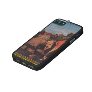 Gustave Courbet- The Huntsman's Picnic iPhone 5 Covers