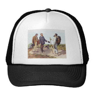 Gustave Courbet- The Meeting (Bonjour Courbet) Trucker Hat