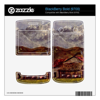 Gustave Courbet - The Mountain Hut BlackBerry Bold 9700 Skin