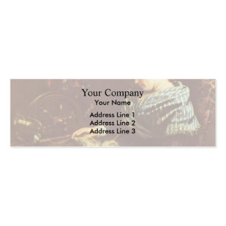 Gustave Courbet- The Sleeping Embroiderer Business Cards