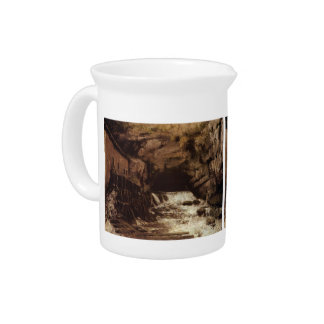 Gustave Courbet: The Source of the Loue Drink Pitcher