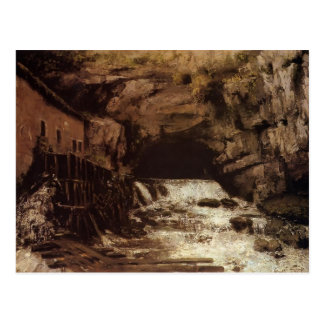 Gustave Courbet: The Source of the Loue Postcard