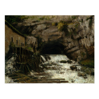 Gustave Courbet - The Source of the Loue Postcard