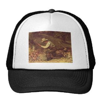Gustave Courbet- The Stone Breaker Trucker Hat
