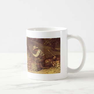 Gustave Courbet- The Stone Breaker Mugs
