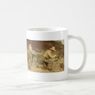 Gustave Courbet- The Stone Breakers Mugs
