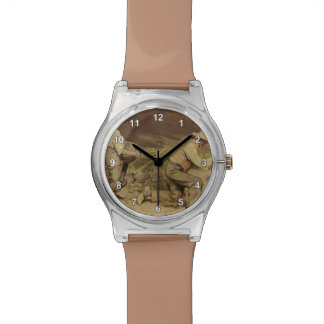 Gustave Courbet- The Stone Breakers Wrist Watches