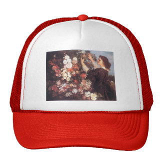 Gustave Courbet- The Trellis Trucker Hat